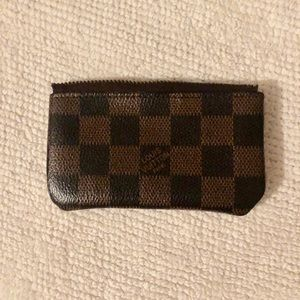 Louis Vuitton key pouch damier/checkered - broken!